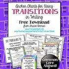 FREE Common Core Writing Transitional Words Anchor Charts for WritingDisplay these transition words anchor charts in your classroom so students c...