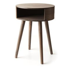 Nook Bedside Table - Natural | Kmart could be adapted to cat scratcher and bed