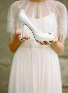 Bella Belle's Beautiful 2015 Bridal Shoes Collection