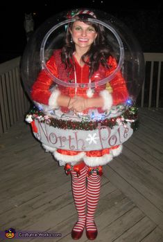 Snow Globe Costume (That really snows!) - 2012 Halloween Costume Contest