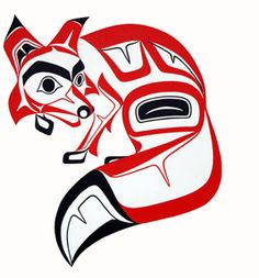 first nations art wolf - Google Search