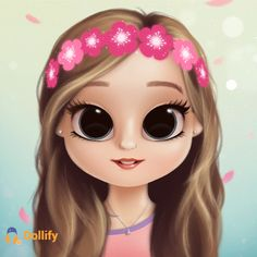 Isn't this the cutest thing ever? Kawaii Girl Drawings, Cute Little Drawings, Cute Cartoon Drawings, Cartoon Girl Drawing, Cute Girl Wallpaper, Cute Disney Wallpaper, Cute Cartoon Wallpapers, Dope Cartoon Art, Cute Cartoon Girl