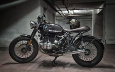 Bmw R100 Brat Style ''Shine'' by Motorecyclos #bratstyle #motorcycles #motos   caferacerpasion.com