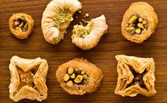 Dessert: Epicure's Light and Lovely Baklava (110 calories/serving)