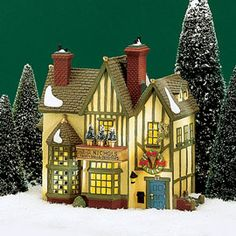 """Department 56: Products - """"J.D. Nichols Toy Shop"""" - View Lighted Buildings"""