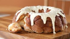 Cinnamon Pull-Apart Bread recipe - Do yourself a favor and don't bother monkeying around with any other recipes for cinnamon pull-apart bread. They'll definitely love every perfectly glazed bite.