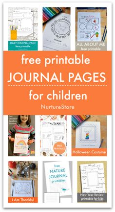 free printable journal pages for children, homeschool journal printables, homeschool language arts activities