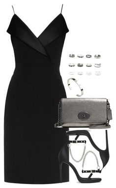 <img> A little black dress: combinations - Polyvore Outfits, Polyvore Fashion, Dressy Outfits, Stylish Outfits, Look Fashion, Womens Fashion, Fashion Design, Elegantes Outfit, Mode Inspiration