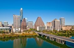 Incredible view of the Heart of Austin