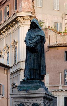 Giordano Bruno at Campo de' Fiori, Rome, province of Rome  Lazio