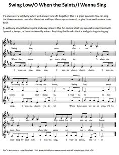 Fun to do with my choir!! Singing | Choir | Chorus | Partner Songs |     ♫  CLICK through to read more or RE-PIN for later!   ♫