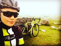 A great photo from @kellyjayne_1 taking a moment out on the Welsh hills. #cycling #happytrails #primaleurope