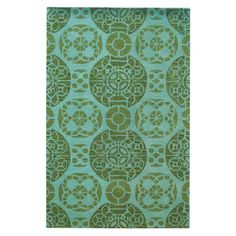 Marlo Rug in Turquoise