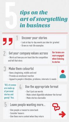 The Art of Storytelling in Business. #personalbranding #branding #auntiesocial