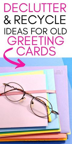 With these 5 simple steps you can declutter and organize your old greeting cards quickly and effectively. Let go of the paper but keep the important information and the emotional memories. These steps will guide you through the process of decluttering your old cards successfully! Old Greeting Cards, Old Cards, Konmari Method, Free Printable Calendar, Organizing Your Home, Decluttering, Simple Living, Organization Hacks, Getting Organized