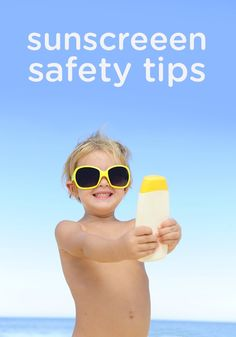 Protect your toddler's or beach baby's beautiful skin with these sunscreen safety tips—a must-read for moms with little ones who love to spend time outside or at the playground in the spring and summer sun!