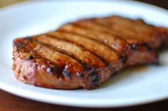 Steak Marinade from Food.com: This is a variation of a recipe I got from a book that came with my BBQ. I used strip loin steaks and it was fantastic. You don't need any steak sauce to go with it. The taste from the marinade is delicious!