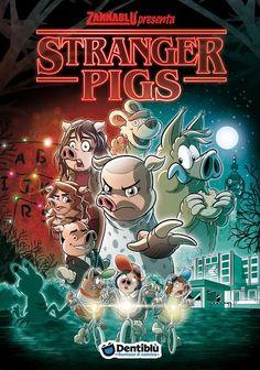 Stranger Pigs: Zannablù omaggia la serie Netflix