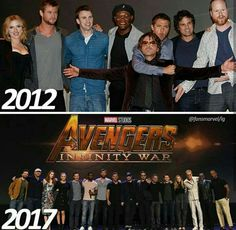 This is amazing how much the MCU family has grown......no one is allowed to die in infinity war I forbid it especially Cap
