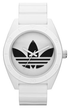 05997f56bb87 adidas Originals  Santiago XL  Silicone Strap Watch