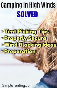 Hardly anyone enjoys camping while being hit by wind gusts, but nature can surprise us in harsh ways. Learn how to secure a tent in high winds. Our article will teach you some basic, but important knowledge about tent camping in high winds. Camping Tools, Camping Supplies, Camping Stove, Camping Equipment, Tent Camping, Camping Hacks, Camping Gear, Outdoor Camping, Glamping
