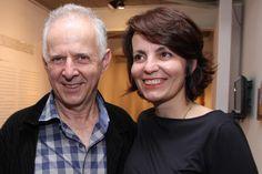 Jorge Schwartz e Roberta Saraiva