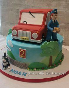 Postman Pat birthday cake.