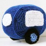 Free English Crochet Patterns Amigurumi | Amigurumi Pattern - Car & Caravan - Crochet Pattern