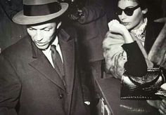 Frank and Ava, Rome, 1954