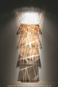 Sydney Cash News Reflection Art, Art Google, Installation Art, Table Lamp, Sculpture, Lighting, Sydney, Google Search, News