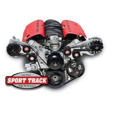 march performance Chevy LS : Sport Track Alternator, Power Steering or A/C w/Optional Power Steering or A/C Serpentine All Inclusive Kit  *For part number and price, choose options below $934.50  #BecauseSS