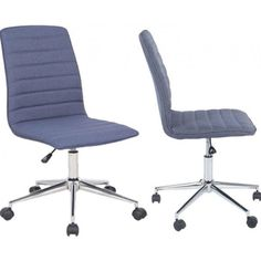 Robby 1 - kontorstol i jeans blå My Jeans, Chair, Inspiration, Furniture, Home Decor, Biblical Inspiration, Stool, Interior Design, Home Interior Design