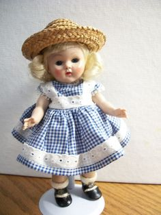 VOGUE GINNY 1950's  #80 STRUNG  DOLL EXCELLENT CONDITION #PLASTIC