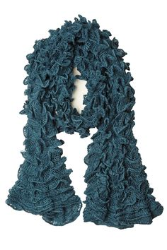 A Tubular Sensation Ruffled Scarf only $12.99