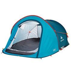 Dunlop 2 Personen Kuppelzelt Zelte Familienzelt Camping Moskitonetz Vorzelt