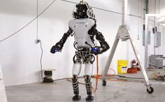DARPA has revealed upgrades to the ATLAS robot. The robot was redesigned for DARPA by Boston Dynamics, with the goal of improving power efficiency to better support untethered battery operation. The upgraded robot will be used by up to seven teams competing in the DARPA Robotics Challenge.