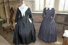 Costumes designed by Jenny Beavan for Franco Zefferelli's film in 1995, Jane Eyre Costume Exhibition at Haddon Hall 2012.