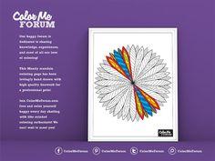 New Coloring Page: Mandy Mandala - Color Me Announcements - Color Me Forum