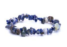 naramok-sodalit-modry-sekany Beaded Bracelets, Jewelry, Fashion, Moda, Jewlery, Jewerly, Fashion Styles, Pearl Bracelets, Schmuck