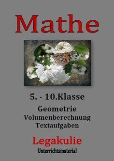 8 best Volumenberechnung images on Pinterest   Mathematics, Bavaria ...