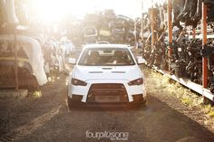Junkyard Photoshoot / Web Feature! - EvoXForums.com - Mitsubishi Lancer Evolution X Forums