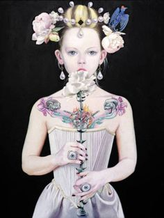 Белая роза. Плохие девочки («Le Bambine Cattive») Титти Гарелл (Titti Garelli).