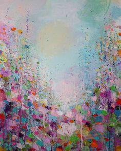 "Saatchi Art Artist Sandy Dooley; Painting, ""Drenched Landscape III"" #art"