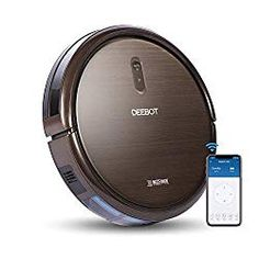 ECOVACS DEEBOT Robot Vacuum Cleaner with Max Power Suction, Alexa Connectivity, App Controls, Self-Charging for Hard Surface Floors & Thin Carpets - best woman's fashion products designed to provide Deep Cleaning Tips, Car Cleaning, Cleaning Solutions, Cleaning Hacks, Floor Cleaning, Boxing Week, Vacuum For Hardwood Floors, Low Pile Carpet, Wifi Connect