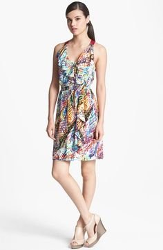 Presley Skye Ruffled Print Dress available at #Nordstrom