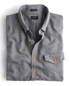 Gift Guide | For Him: J.Crew shirt in brushed twill.