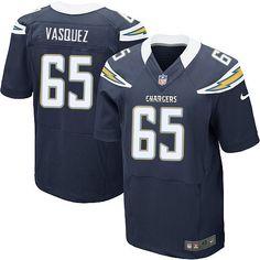 Men Nike San Diego Chargers #65 Louis Vasquez Elite Navy Blue Team Color NFL Jersey Sale