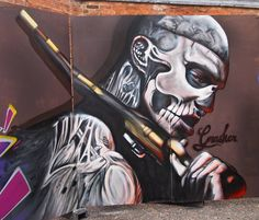 """Artist : David 'Gnasher' Nash """"Zombie Boy """" Painted at the Norwich Body Art festival"""