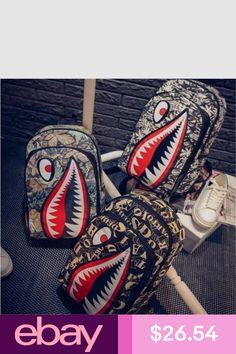 3ceff485560 Ayo and Teo Backpack Bag a Bathing Ape backpack Bape Head teeth shark  supreme