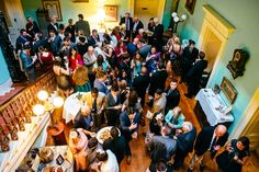 Bubbly and Canapes in the Vestibule